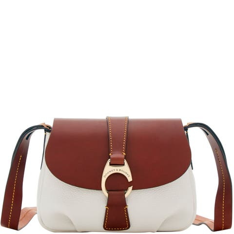 e6ba9a88bab Dooney   Bourke Derby Pebble Small Flap Crossbody Shoulder Bag (Introduced  by Dooney   Bourke