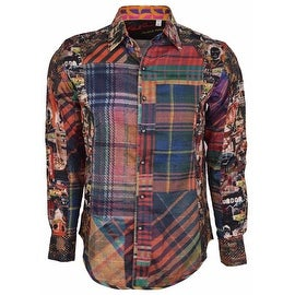 NEW Robert Graham Classic Fit ODD MAN OUT Limited Edition Sport Shirt M