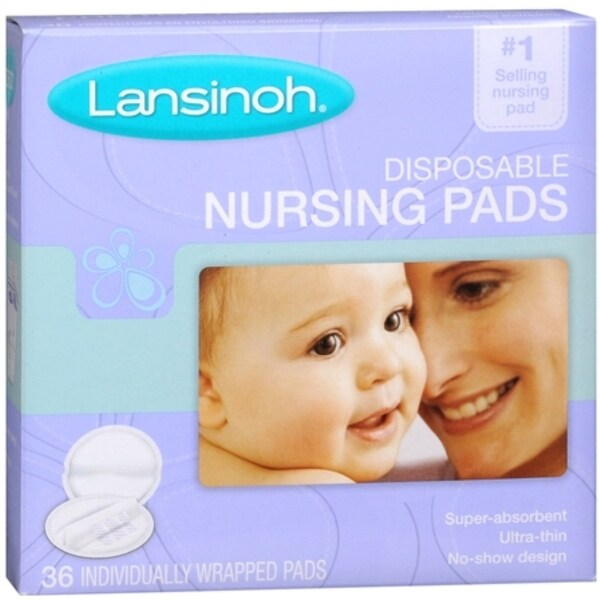 Lansinoh Nursing Pads Disposable 36 Each