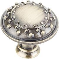 "Jeffrey Alexander 1095 Venizia 1-1/4"" Diameter Mushroom Cabinet Knob - n/a"