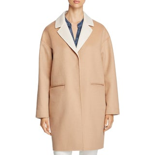 Kate Spade Womens Coat Wool Lightweight - M