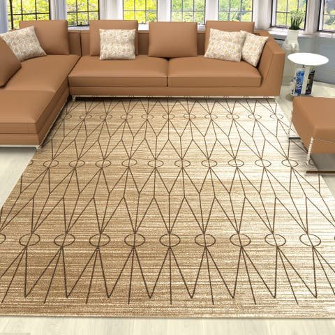 Cazza Mantoni Moroccan Tribal Modern Area Rug