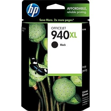 HP 940XL Black High Yield Ink Cartridge C4906AN