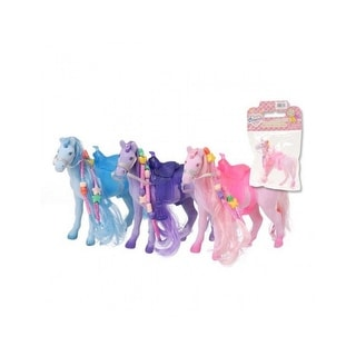 "Gift Corral Toy Western Accessories 3 Pack Flocked Horses 6"" - 3 pack - assorted colors"