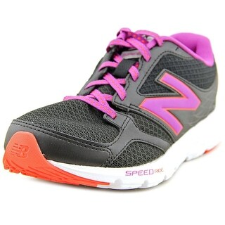New Balance W490 Women Round Toe Synthetic Black Running Shoe