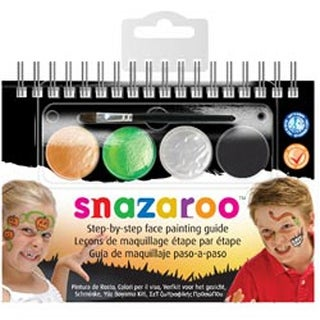 Halloween - Snazaroo Step-By-Step Face Painting Kit