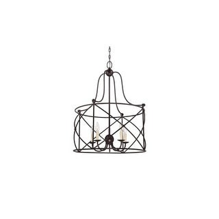 Savoy House 1-4072-5 8 Light Chandelier from the Fern Spring Collection