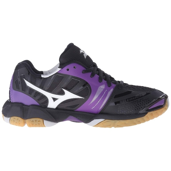 mizuno womens volleyball shoes size 8 x 3 foot wide lace