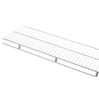 "Rubbermaid 3D9900  48"" Long Wire Shelf - White"