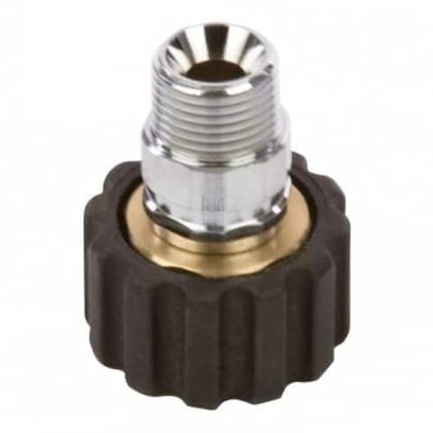 """Forney 75109 Male Screw Coupling, M22F x 3/8"""""""