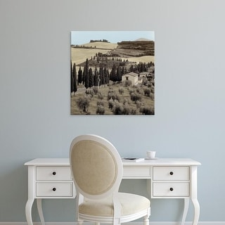 Easy Art Prints Alan Blaustein's 'Tuscany #15' Premium Canvas Art