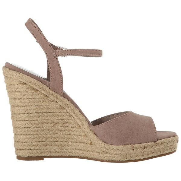 Carlos by Carlos Santana Womens Lillith Canvas Open Toe Casual Platform Sandals