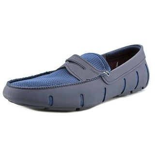 Swims Penny Loafer Men  Round Toe Synthetic Blue Loafer