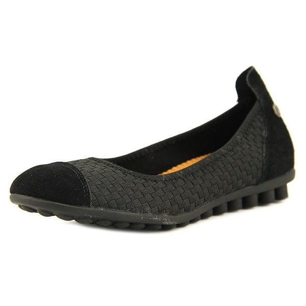 Bernie Mev. Bella Me Women Round Toe Synthetic Black Loafer