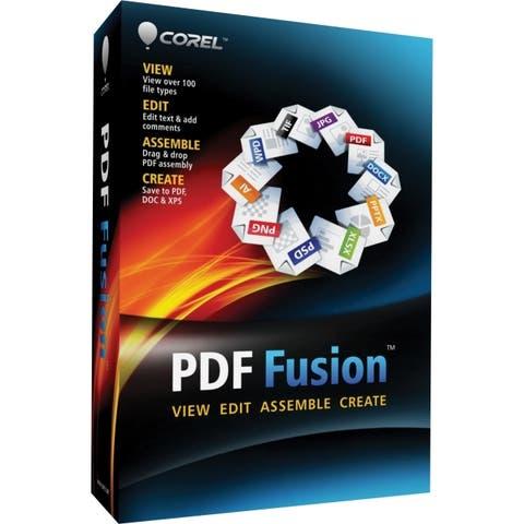 Corel corporation cpdff1enmb corel pdf fusion 1 en mini-box