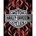 Licensed Harley Davidson Motor Cycles Bath Beach Towel 54X68 SOA - Thumbnail 0