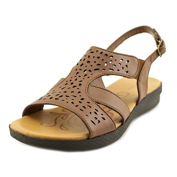 Easy Spirit Bolt Women Tan Sandals