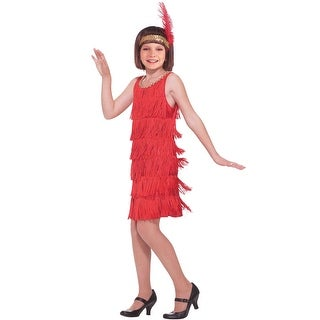 Forum Novelties Red Flapper Child Costume (L) - Large