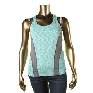 Calvin Klein Performance Womens Sleeveless Slub Shirts & Tops