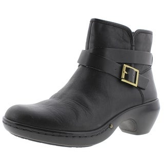Easy Spirit Womens Corentine Ankle Boots Leather Belted