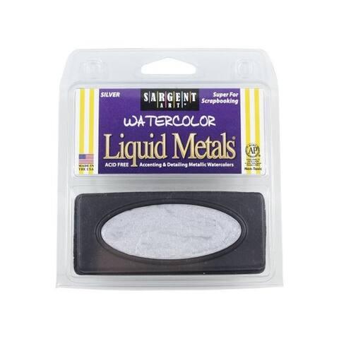 Sargent art 668082 liquid metal watercolors silver