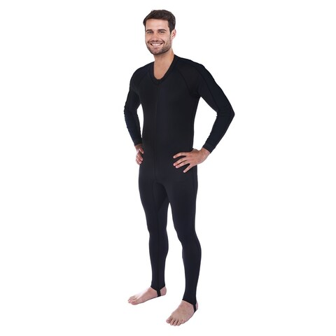 Ivation Men's Wetsuit - Full Body Diving Suit & Sports Skin (Small)