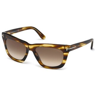 Tom Ford Womens FT0361-50F Celina Sunglasses Havana Brown Frame Brown Lens - Dark Brown