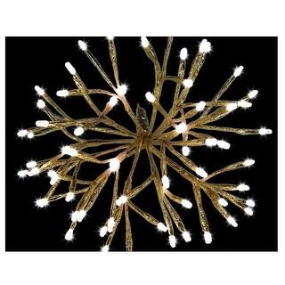 """Celebrations LED-16SHS-GWWA Christmas LED Shimmer Sphere Light, Warm White, 16"""""""