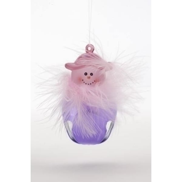 Club Pack Of 24 Pink Hat Lady Jingle Buddie Christmas Ornaments