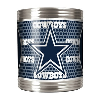 Great American Products Dallas Cowboys Can Holder Stainless Steel Can Holder