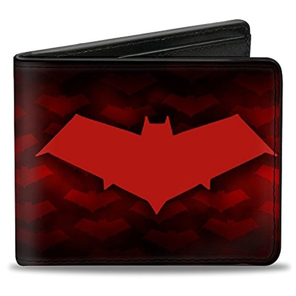 Buckle-Down Bifold Wallet Red Hood