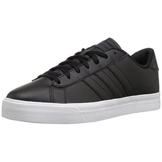 Adidas Mens Cf Super Daily, Black/Black/White