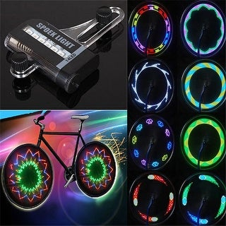 30 Pattern 14 LED GLOW LED Spoke Lights for Bicycles