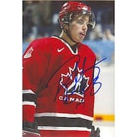 Ryan Getzlaf Team Canada Autographed 4x6 Photo with Certificate of Authenticity