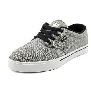 Etnies Jameson 2 Eco Men Round Toe Canvas Gray Skate Shoe