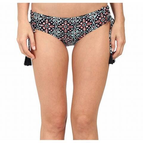 Michael Kors Black Womens Size Small S Side Tie Bikini Bottom