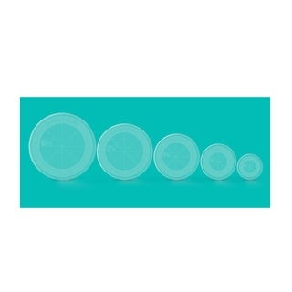 "Link to Creative Grids Quilt Ruler Circles (5 Discs with Grips) Quilt Ruler - 0.25"" x 6.5"" x 6.5"" Similar Items in Sewing & Quilting"