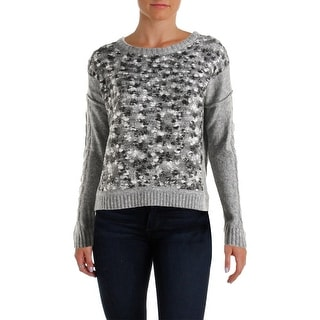 Love Scarlett Womens Pullover Sweater Wool Blend Heathered