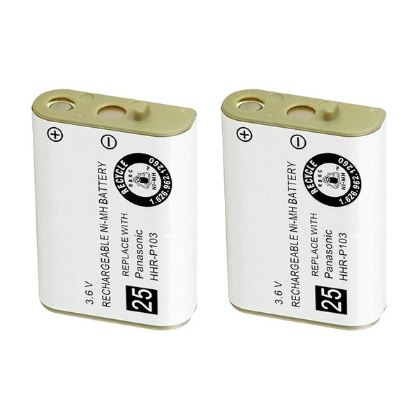 Replacement For AT&T 249 Cordless Phone Battery (700mAh, 3.6V, Ni-MH) - 2 Pack