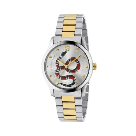 Timeless Silver Dial Two-tone Unisex Watch - N/A