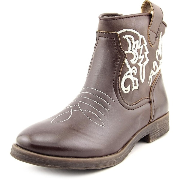 Dolce by Mojo Moxy Tally Round Toe Synthetic Western Boot