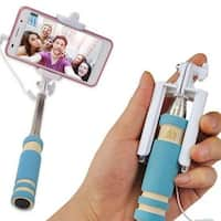 High Quality Mini Extendable Wired Remote Shutter Selfie Stick Monopod