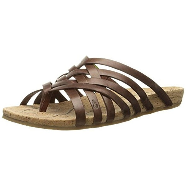 b760b00d1b56 Shop Ahnu Womens Maia Thong Sandals Leather Crossover - Ships To ...
