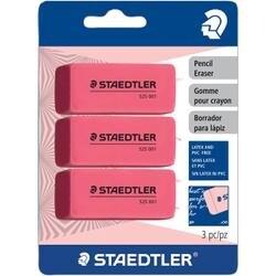Pink - Pencil Eraser 3/Pkg