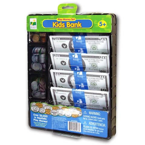 The Learning Journey Kids Bank Play Money Set - multi