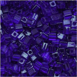 Link to Miyuki 4mm Glass Cube Beads Transparent Cobalt Blue 151 10 Grams Similar Items in Jewelry & Beading