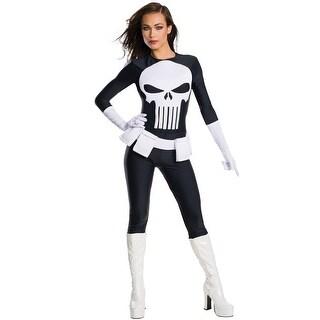 Rubies Marvel Punisher Female Adult Costume - Black (4 options available)