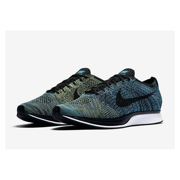 9dd86690365a Shop Nike Mens Flyknit Racer Fabric Hight Top Lace Up Running ...