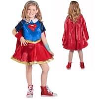 Girls DC Premium Supergirl Halloween Costume