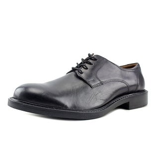 Johnston & Murphy Tabor  Men  Round Toe Leather Black Oxford